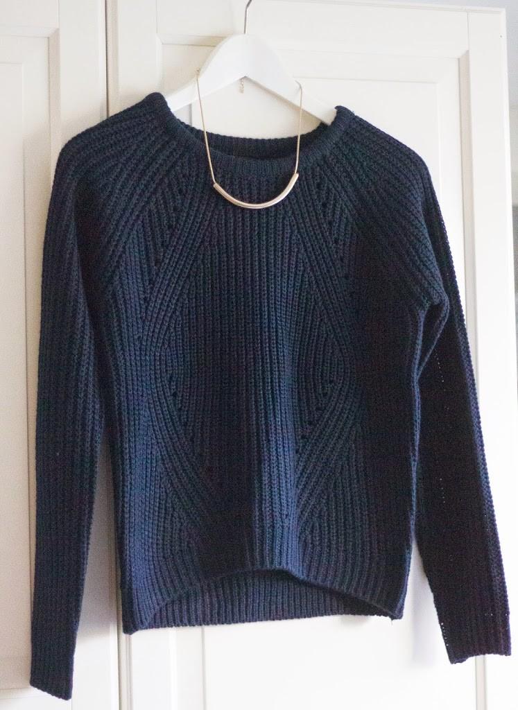 Nieuwe trui & ketting    shoppingtroubles