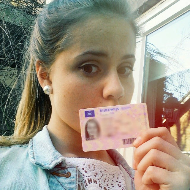 I got my drivers licence