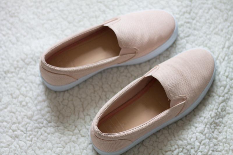 Slip-ons-bershka-roze