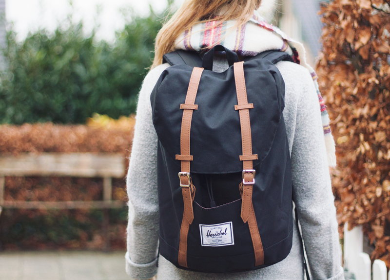 herschel backpack - simply emily - personal blog