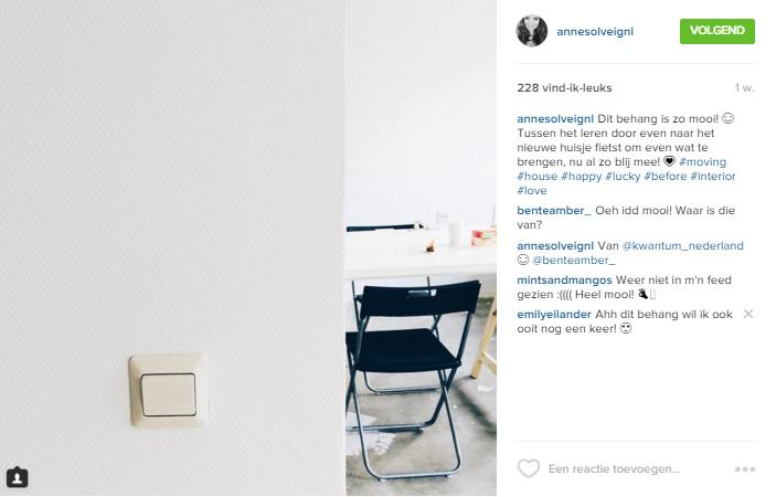 Instagram feed mist AnneSolveig