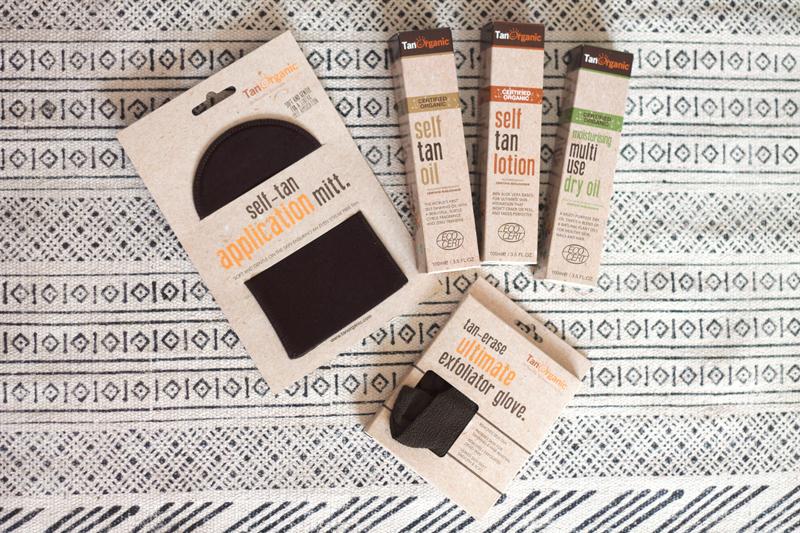 Tan-Organic-producten-self tan-zelfbruiner