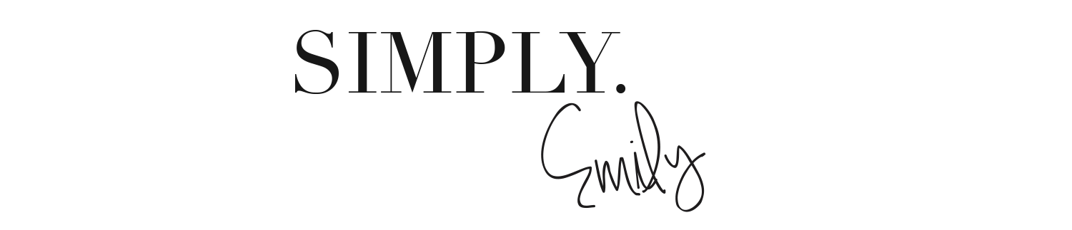 Simply. Emily - personal blog