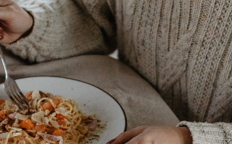 Recept van de maand: spaghetti met pompoen roomsaus